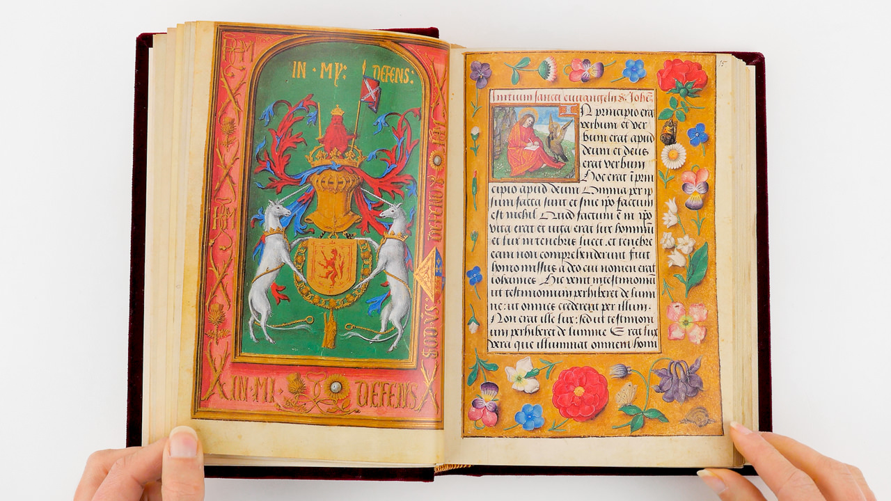 Book of Hours of James IV