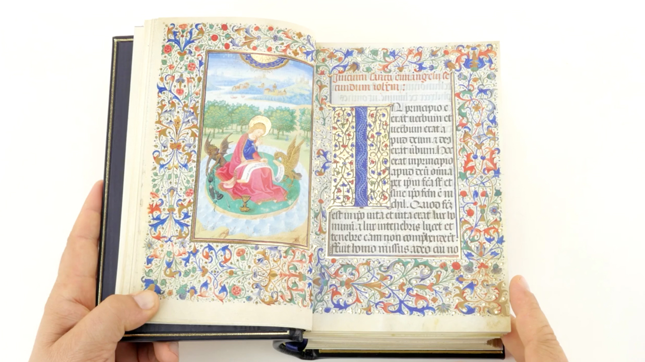 "Book of Hours of Isabel ""The Catholic"""