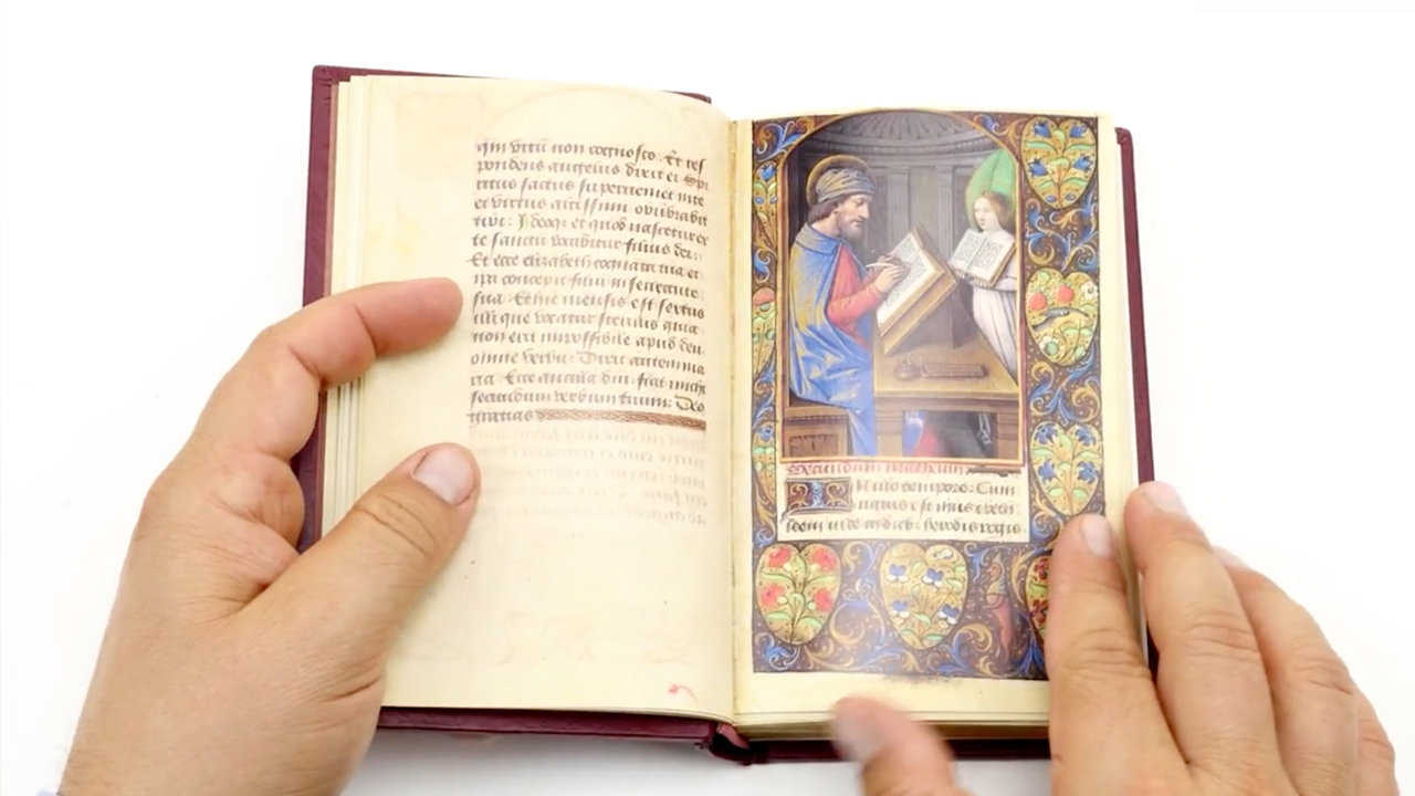 Vatican Book of Hours from the Circle of Jean Bourdichon