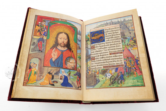 Flemish Book of Hours of Marie de Medici, Oxford, Bodleian Library, Ms. Douce 112 − Photo 1