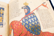 Panegyric in Honor of King Robert of Anjou, Florence, Biblioteca Nazionale Centrale, Banco Rari 38 − Photo 14