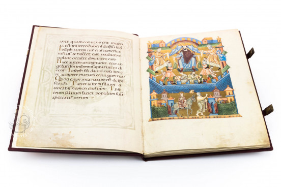 Salzburg Pericopes, Clm 15713 - Bayerische Staatsbibliothek (Munich, Germany) − photo 1