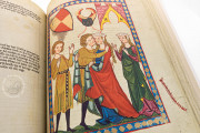 Codex Manesse, Heidelberg, Universitätsbibliothek Heidelberg, Cod. Pal. germ. 848 − Photo 16