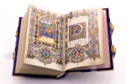 Book of Hours of Lorenzo de' Medici, Florence Italy, Biblioteca Medicea Laurenziana, Ms. Ashburnham 1874 − Photo 10