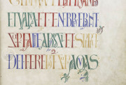 The Bury Bible, Cambridge, Parker Library in the Corpus Christi College, MS 002I − Photo 4
