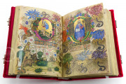 Visconti Book of Hours, Mss. BR 397 e LF 22 - Biblioteca Nazionale Centrale (Florence, Italy) − photo 3