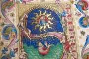 Visconti Book of Hours, Mss. BR 397 e LF 22 - Biblioteca Nazionale Centrale (Florence, Italy) − photo 11