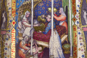 Visconti Book of Hours, Mss. BR 397 e LF 22 - Biblioteca Nazionale Centrale (Florence, Italy) − photo 22
