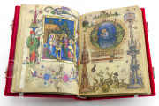 Visconti Book of Hours, Mss. BR 397 e LF 22 - Biblioteca Nazionale Centrale (Florence, Italy) − photo 26