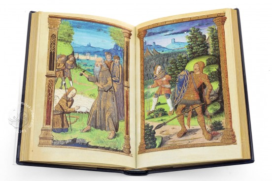 Book of Hours of Charles V, Use of Rome, New Haven, Beinecke Rare Book and Manuscript Library, MS 411 − Photo 1