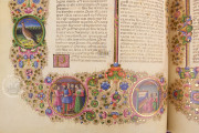 Bible of Borso d'Este, Modena, Biblioteca Estense Universitaria, Mss. Lat. 422 and Lat.423 − Photo 31