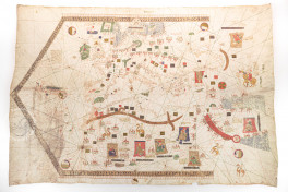 The 1439 Portolan Chart by Gabriel de Vallseca Facsimile Edition