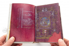 Book of Hours of Cardinal Carafa Facsimile Edition