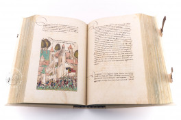 Great Burgundian Chronicle by Diebold Schilling of Bern Facsimile Edition