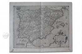 Map of Spain - Abraham Ortelius Facsimile Edition