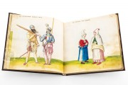 Codex of Costumes, Madrid, Biblioteca Nacional de España, Res/285 − Photo 5