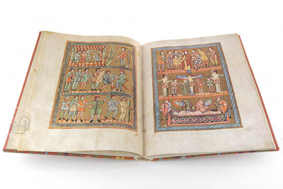 Codex of Vyšehrad, Prague, National Library of the Czech Republic, XIV A 13 − Photo 1