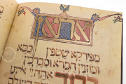 The Golden Haggadah, London, British Library, Add. Ms 27210 − Photo 17
