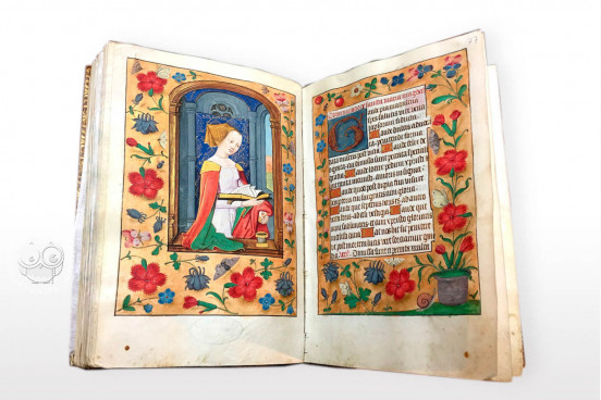 Officium Beatae Mariae Virginis, Bologna, Biblioteca Universitaria di Bologna, ms. 1140 − Photo 1