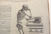 Andreas Vesalius: De Humani Corporis Fabrica and Epitome, Kyoto, International Research Center for Japanese Studies Library, I/115 − Photo 18