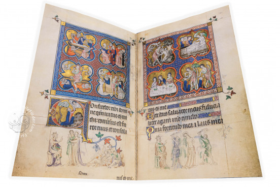 The Queen Mary Psalter, London, British Library, Royal MS 2 B VII − Photo 1