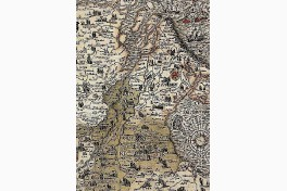 Caspar Vopelius: Map of The Rhine of 1555 Facsimile Edition