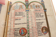 Hildesheim Golden Calendar, Wolfenbüttel, Herzog August Bibliothek, Cod. Guelf. 13 Aug. 2° − Photo 3