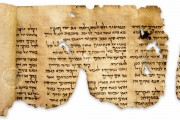 Dead Sea Scrolls, 1QIsa, 1QS and 1QpHab - Shrine of the Book, Jerusalem (Israel) / 4Q175, 4Q162 and 4Q109 - National Archaeological Museum of Jordan (Amman) / − photo 2