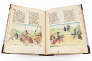 Tournament Book of René d'Anjou, St. Petersburg, National Library of Russia, Cod. Fr. F. XIV. Nr. 4 − Photo 5
