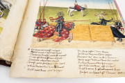 Tournament Book of René d'Anjou, St. Petersburg, National Library of Russia, Cod. Fr. F. XIV. Nr. 4 − Photo 15