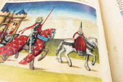 Tournament Book of René d'Anjou, St. Petersburg, National Library of Russia, Cod. Fr. F. XIV. Nr. 4 − Photo 16