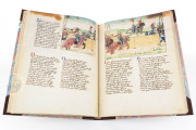 Tournament Book of René d'Anjou, St. Petersburg, National Library of Russia, Cod. Fr. F. XIV. Nr. 4 − Photo 17