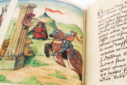 Tournament Book of René d'Anjou, St. Petersburg, National Library of Russia, Cod. Fr. F. XIV. Nr. 4 − Photo 21