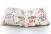 Codex Fejérváry-Mayer, Museum of the City (Liverpool, United Kingdom) − photo 13