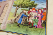 Boccaccio's Decameron, Paris, Bibliothèque de l'Arsenal, Ms 5070 − Photo 20