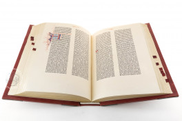 Gutenberg Bible - Pelplin copy Facsimile Edition