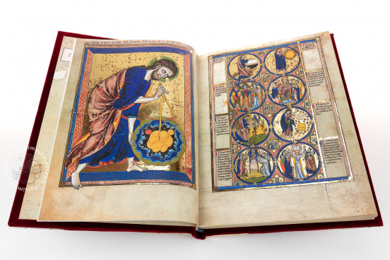 Bible Moralisée, Vienna, Österreichische Nationalbibliothek, Codex Vindobonensis 2554 − Photo 2
