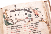 Worms Mahzor, Jerusalem, Jewish National and University Library, MS 4° 781 − Photo 9