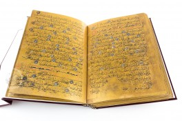 Golden Koran Facsimile Edition
