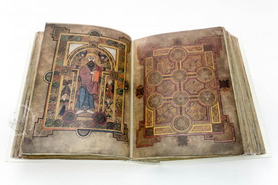 Book of Kells, Ms. 58 (A.I.6) - Library of the Trinity College (Dublin, Ireland) − photo 1