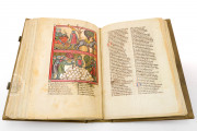 Rudolf von Ems: World Chronicle Der Stricker Charlemagne, St. Gallen, Kantonsbibliothek Vadiana, Ms 302 Vad. − Photo 13