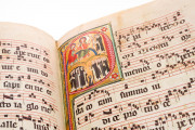 Gradual of St. Katharinenthal, Zürich, Schweizerisches Landesmuseum, LM 26117 − Photo 6