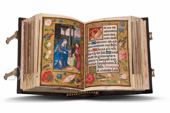 Book of Hours of Doña Mencía de Mendoza, 26-III-41 - Biblioteca del Instituto de Valencia de Don Juan (Madrid, Spain) − photo 1