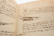 Codex on the flight of birds, Turin, Biblioteca Reale di Torino − Photo 11