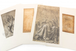 Drawings of Leonardo da Vinci and his circle - Galleria degli Uffizi in Florence (Collection) Facsimile Edition