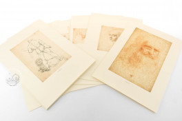 Drawings of Leonardo da Vinci and his circle - Biblioteca Reale in Turin (Collection) Facsimile Edition