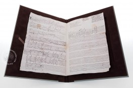 Seven musical scores belonging to Isabelle de Valois Facsimile Edition