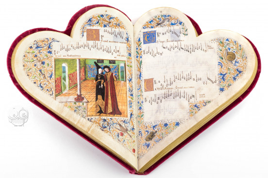 Chansonnier de Jean de Montchenu, Paris, Bibliothèque Nationale de France, Rothschild 2973 − Photo 1