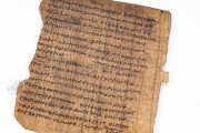 Bodmer VIII Papyrus - Epistles of St. Peter, P72 - Biblioteca Apostolica Vaticana (State of the Vatican City) − photo 11
