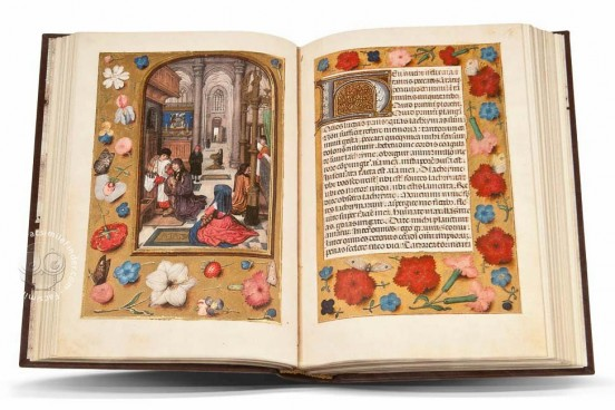 Vatican Library Book of Hours, Vat. Lat. 3768 › Biblioteca Apostolica Vaticana (Vatican City, State of the Vatican City) − photo 1
